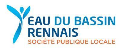 SPL EAU BASSIN RENNAIS (SOCIETE PUBLIQUE LOCALE EAU DU BASSIN RENNAIS) , Conducteur Usine d'eau potable et d'Installations hydroelectriques d'un barrage